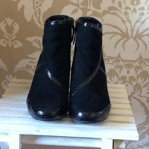 Clarks Artisan Black Booties. Size 8.5